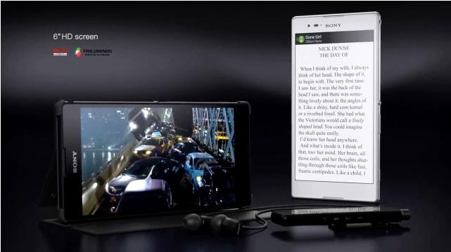 Xperia T2 Ultra ufficiale: un nuovo 6'' HD da sony (video e foto)