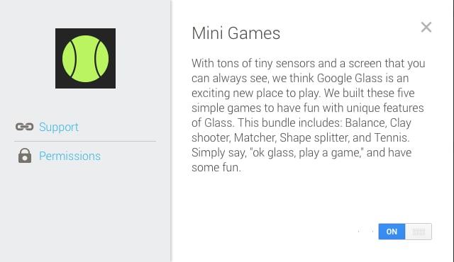 Google Glass mini game