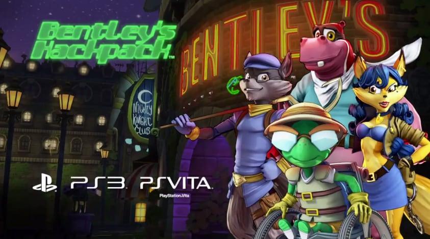 Sony lancia Sfide hacker di Bentley, 3 mini giochi di Sly Cooper (video e foto)