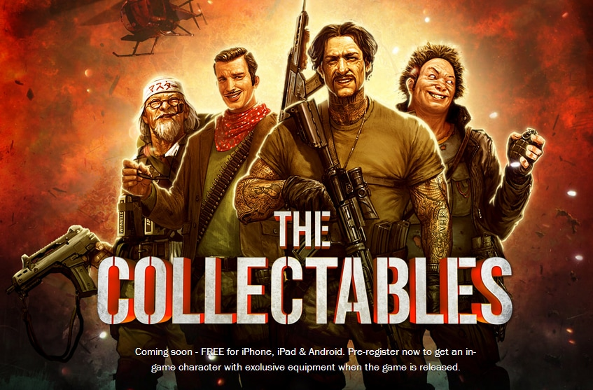 The Collectables header