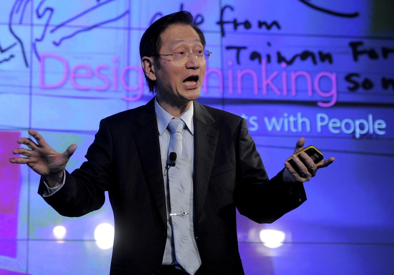 Chairman of the Chinese company Asus, Jo