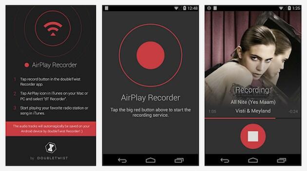 Registriamo su Android i brani di iTunes Radio con doubleTwist AirPlay Recorder
