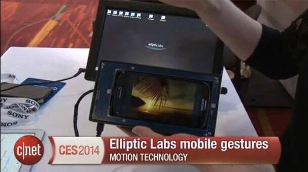 Le touchless gesture del futuro saranno ad ultrasuoni, forse già su Galaxy S5 (video)