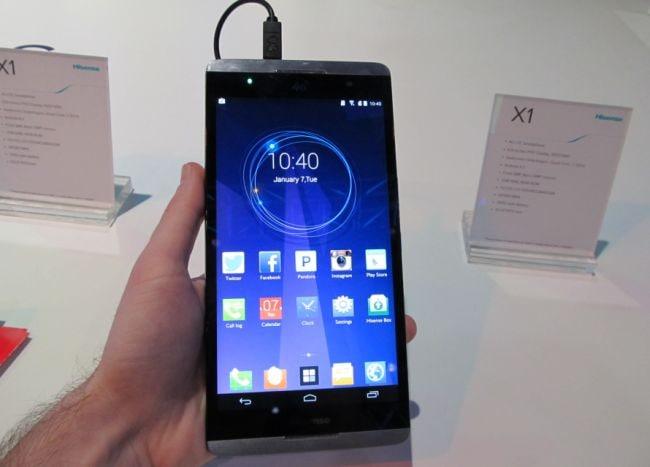 Hisense X1 ufficiale: uno smartphone da 6,8 pollici solo per la Cina (foto e video)