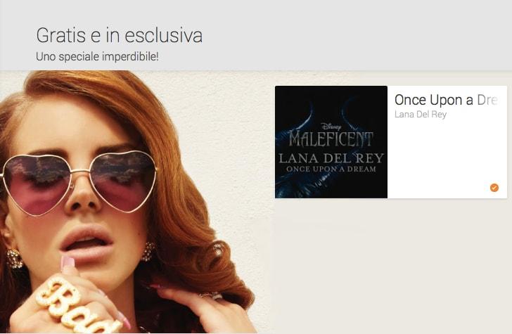 Once Upon a Dream di Lana Del Rey, dal film Maleficent, gratis su Play Music (video)