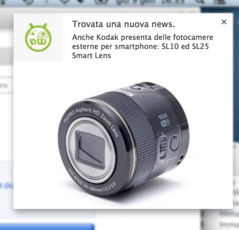 Notifica App Chrome
