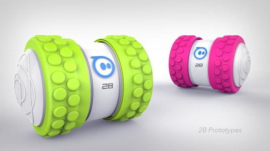 Orbotix annuncia Sphero 2B: la pallina Bluetooth si fa cilindrica! (video e foto)