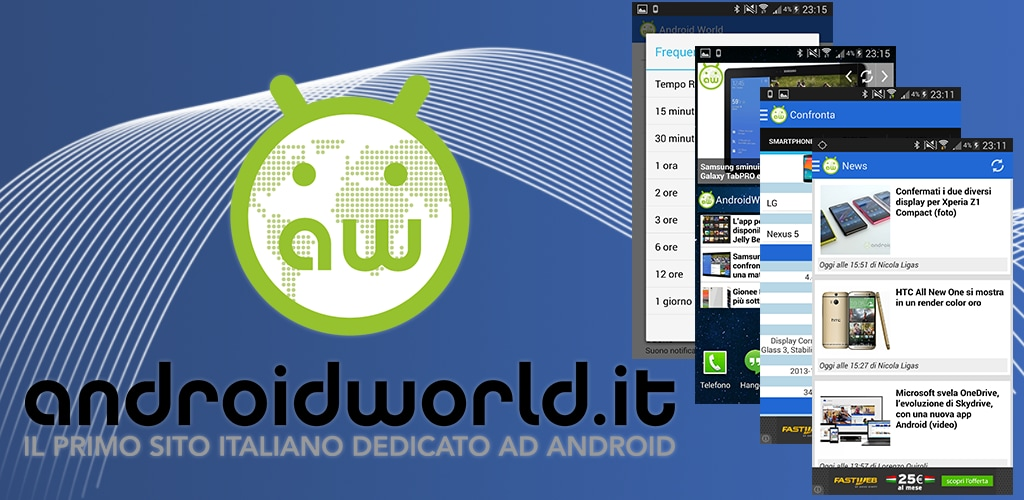 AndroidWorld.it App 3.4