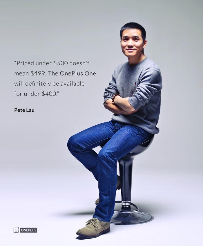 Pete Lau conferma un prezzo inferiore a 400$ per OnePlus One