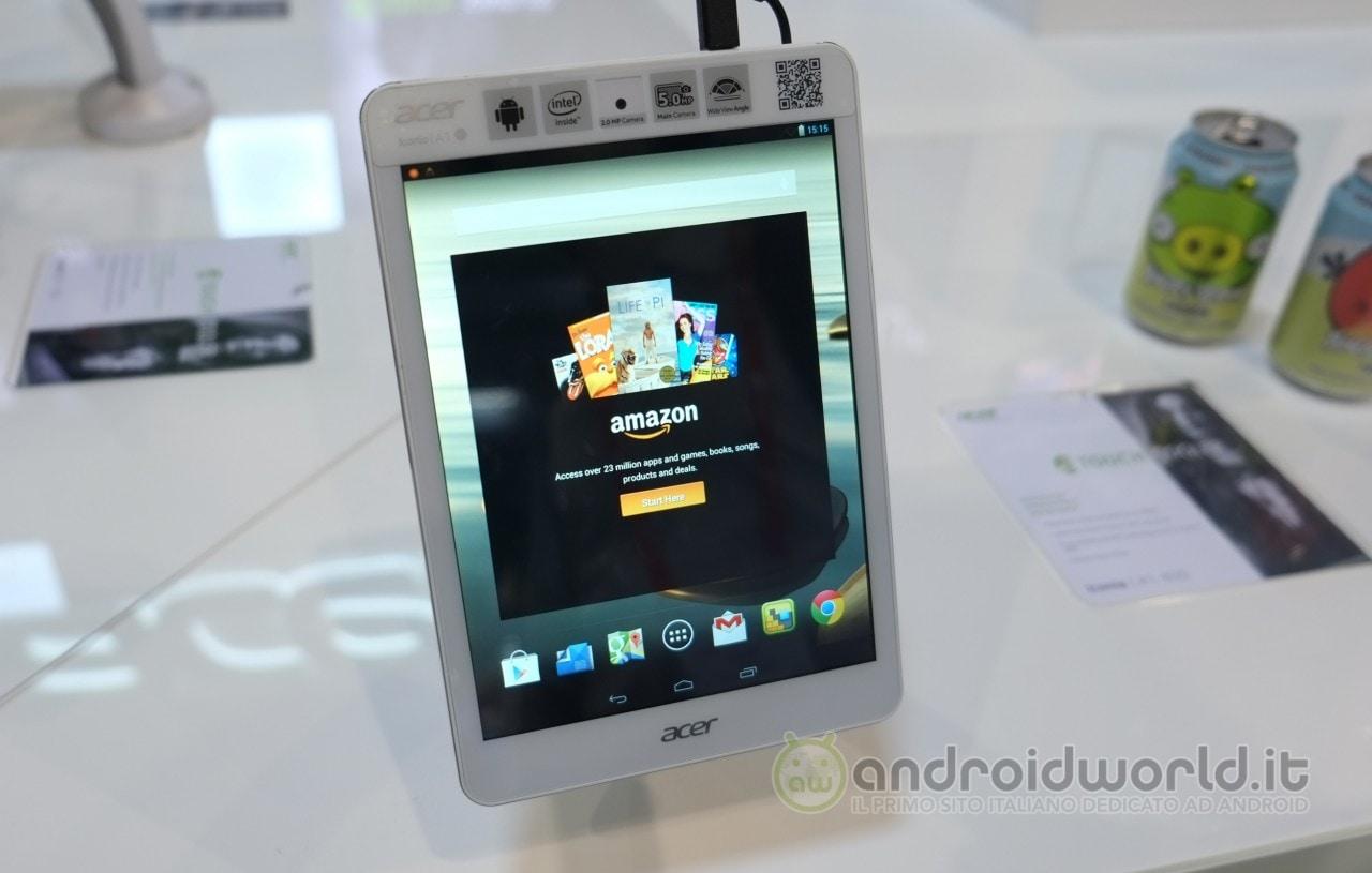 Acer Iconia Tab A1-830 è già disponibile in Italia (video)
