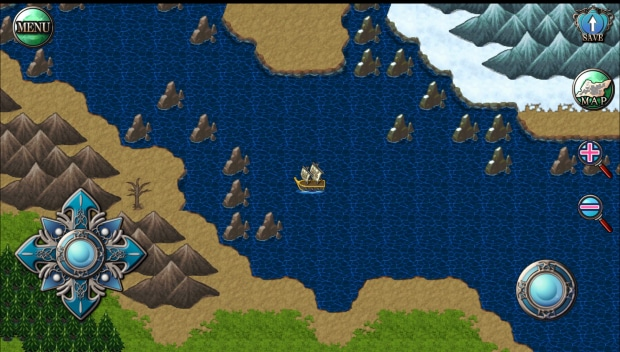 Il mondo di Lagoon potrà essere visitato anche tramite alcuni mezzi.