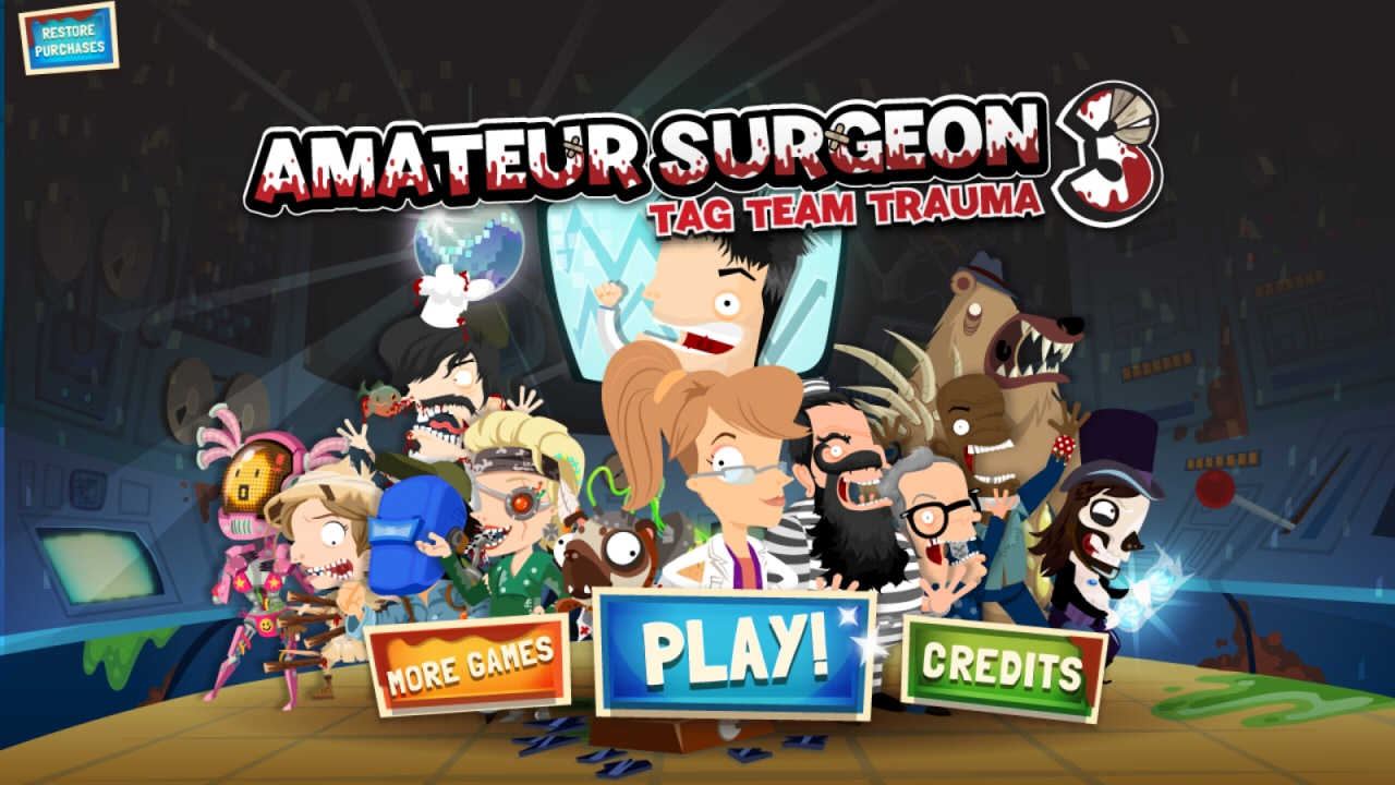 Amateur Surgeon 3 Header