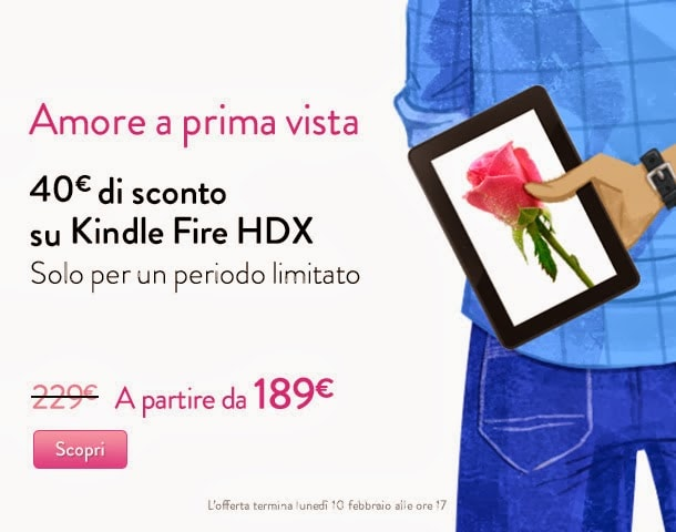 Amazon Kindle sconto