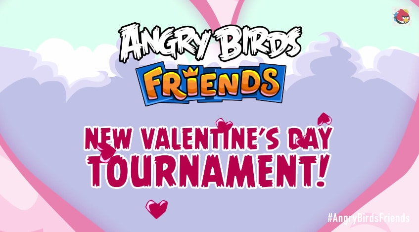 Angry Birds Friends San Valentino