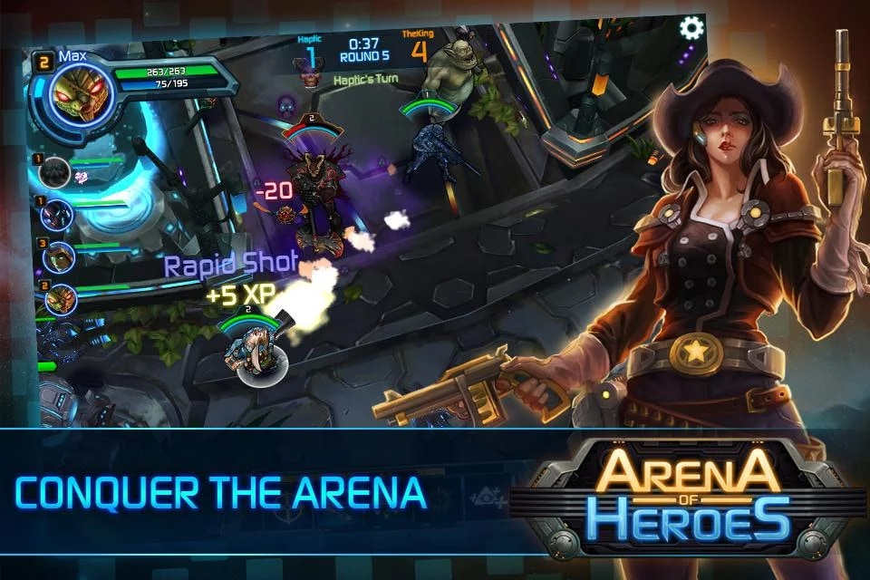 Arena of Heroes Sample (1)