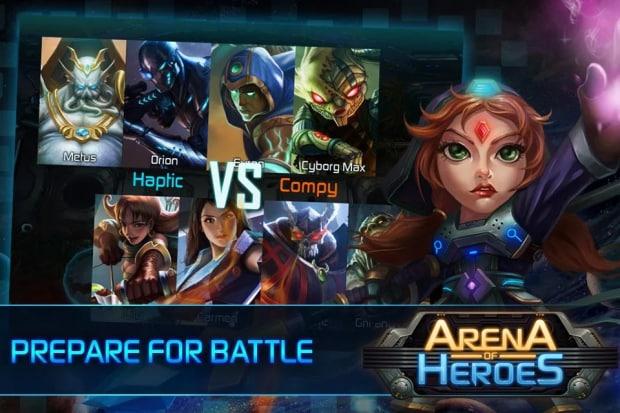 Arena of Heroes Sample (4)
