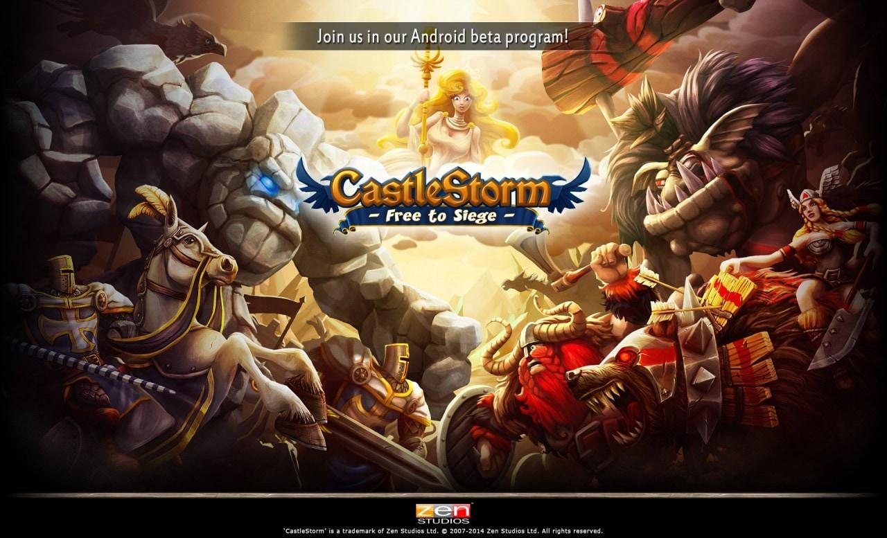 CastleStorm - Free to Siege: aperta la beta per il nuovo gioco degli Zen Studios (foto e video)