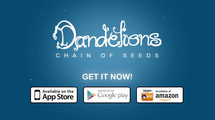 Dandelions: Chain of Seeds, un nuovo puzzle game in stile zen (foto e video)
