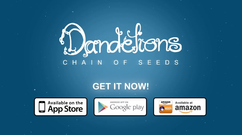 Dandelions Chain of Seeds Header