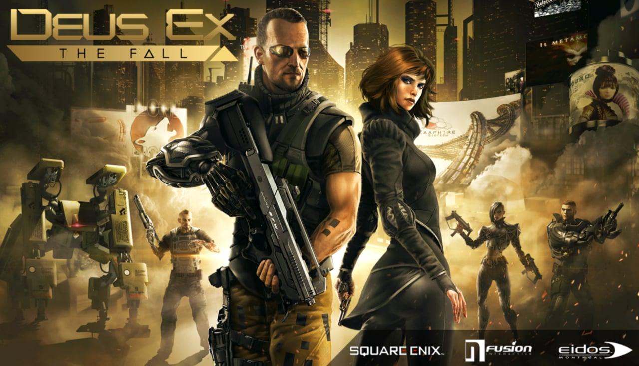 Deus Ex: The Fall di Square Enix scontato a 0,99€ fino a lunedì