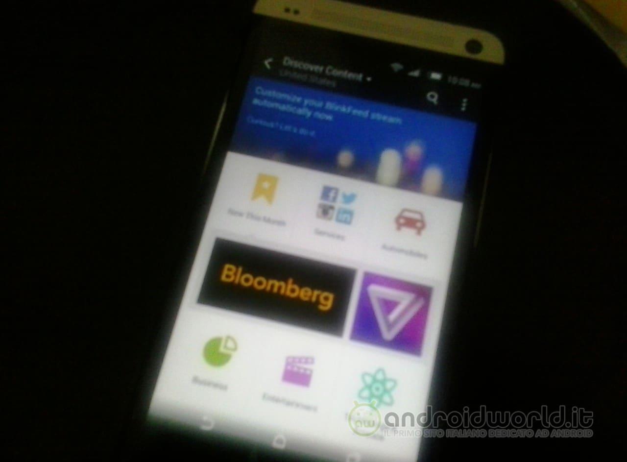 HTC One 2: nuove foto con un nuovo BlinkFeed