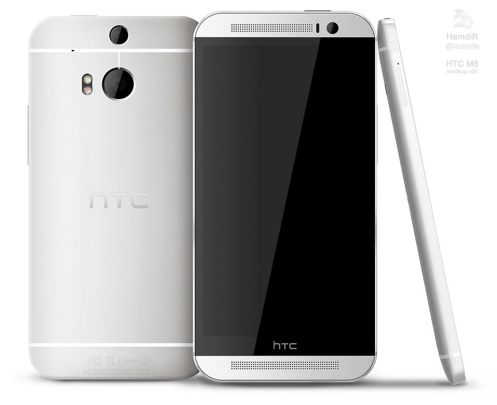 HTC One 2 render 2