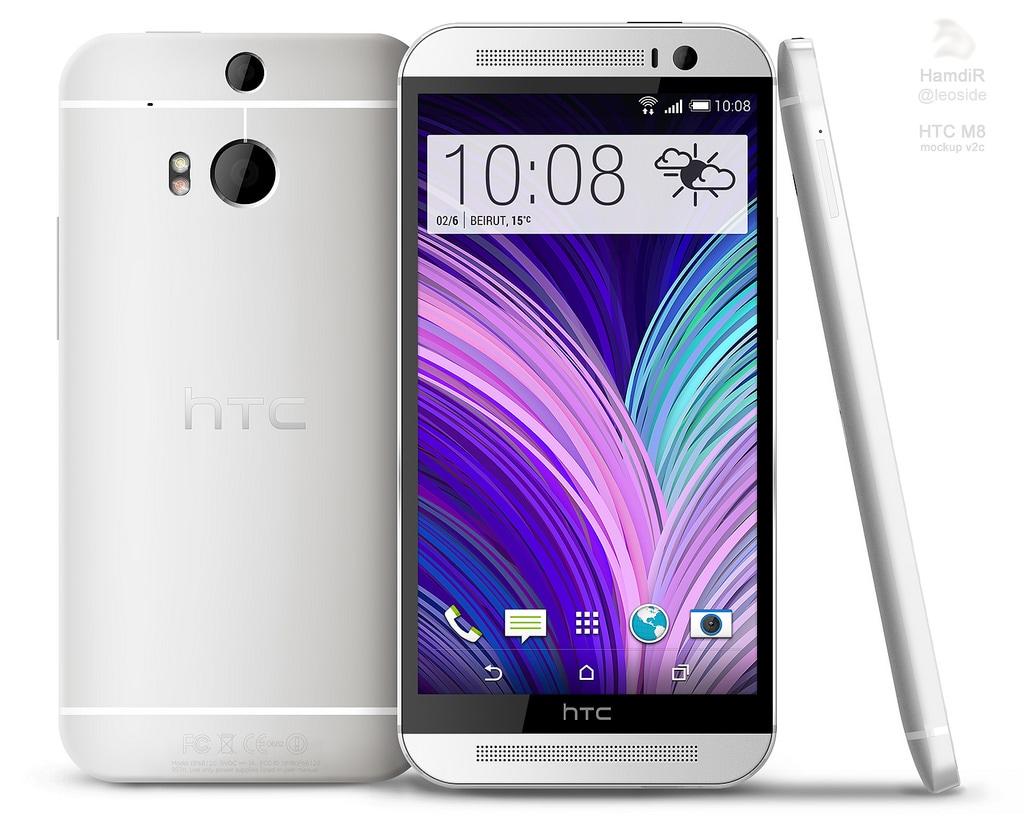 HTC One 2: alcuni render lo immaginano prendendo spunto dagli ultimi leak (foto)