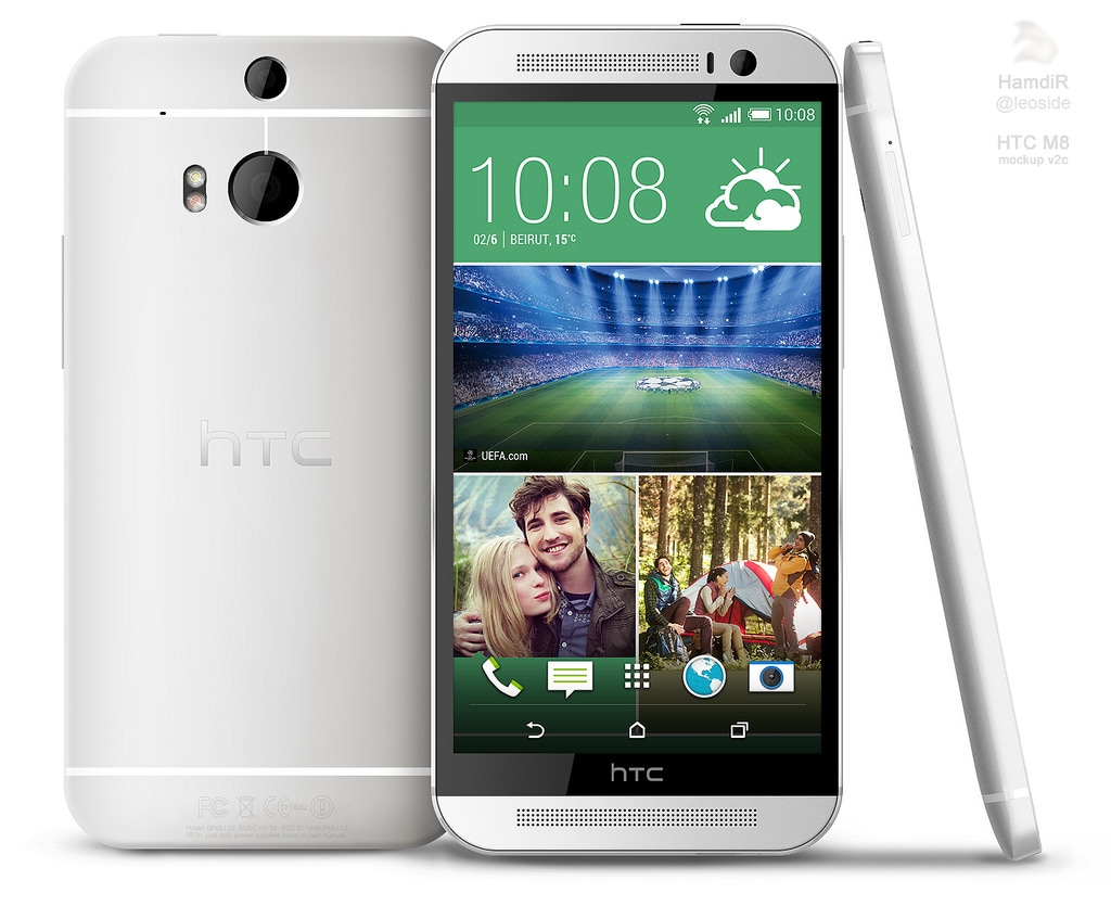 HTC One 3 render 3