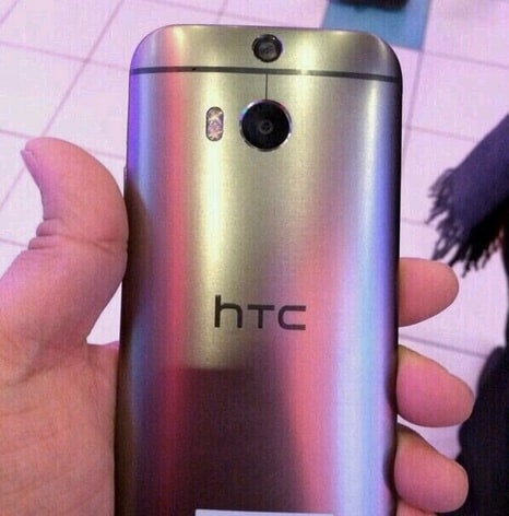 HTC One in metallo