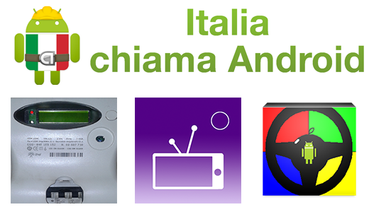Italia Chiama Android: Bolletta Luce, TV Italia, Drive in the Car
