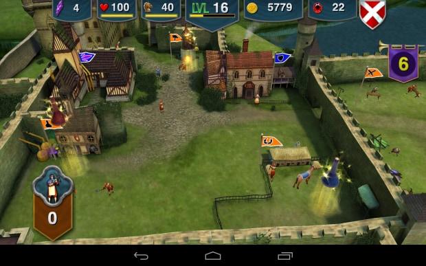 Questo è il castello. Qui sarà possibile gestire le varie strutture, tra cui le stalle e il campo d'addestramento.