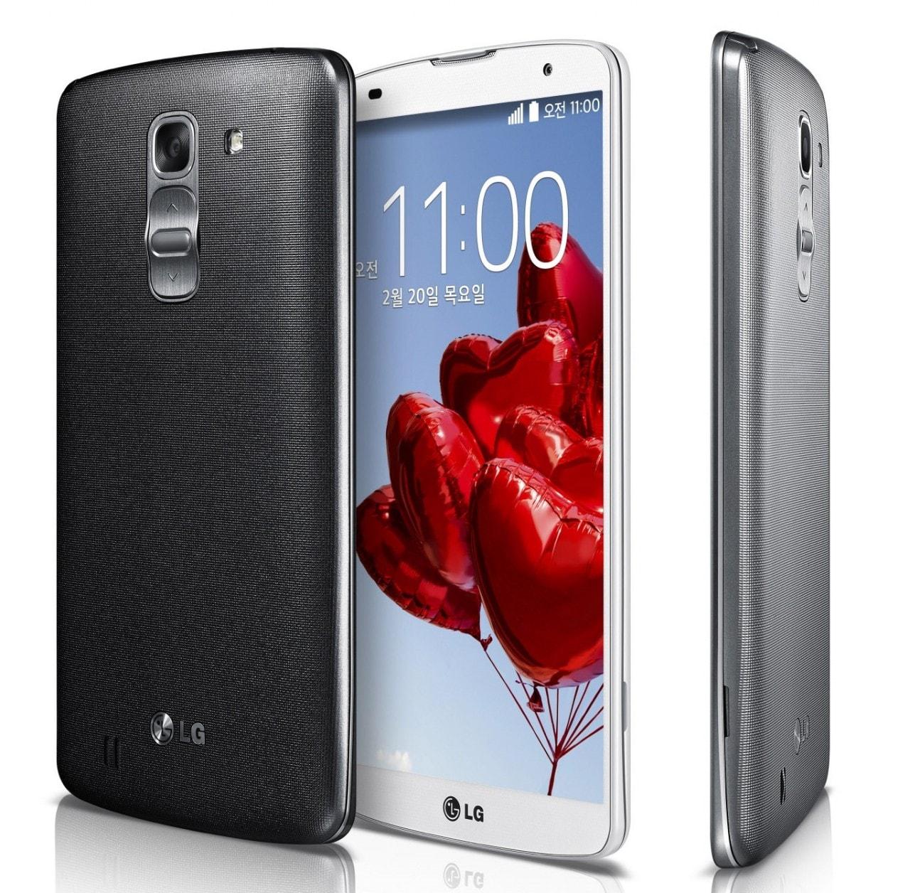 LG G Pro 2 ufficiale: 5,9'' full HD con Snapdragon 800, registrazione video in 4k e tanto altro (foto)