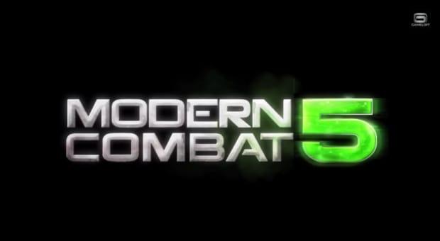 Modern Combat 5 header