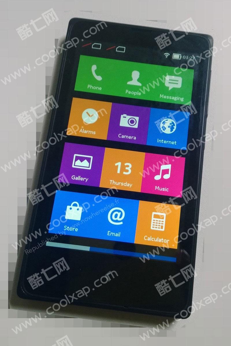 Nuove immagini di Nokia X portano il concetto di watermark al prossimo livello (foto)