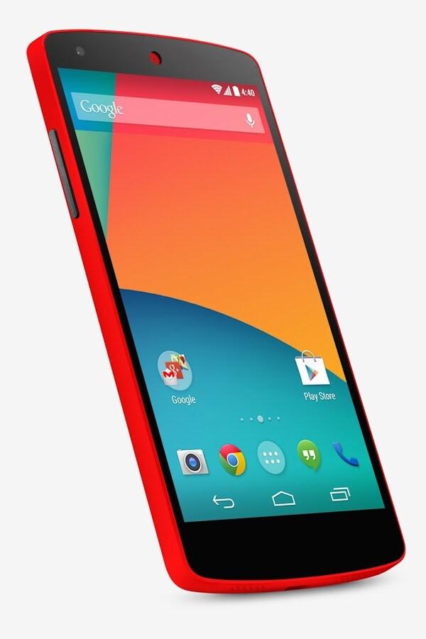 Nexus 5 rosso 1