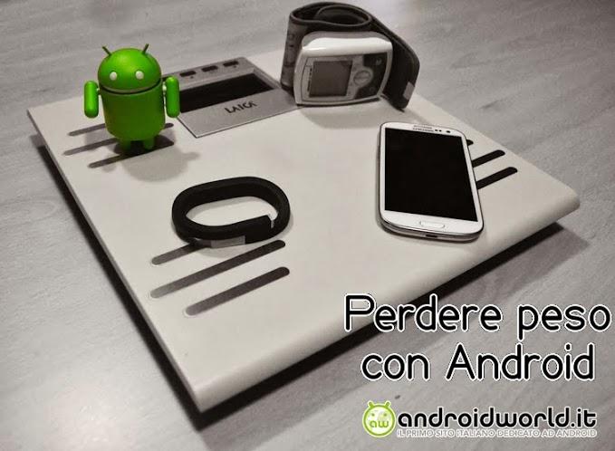 Perdere peso con Android