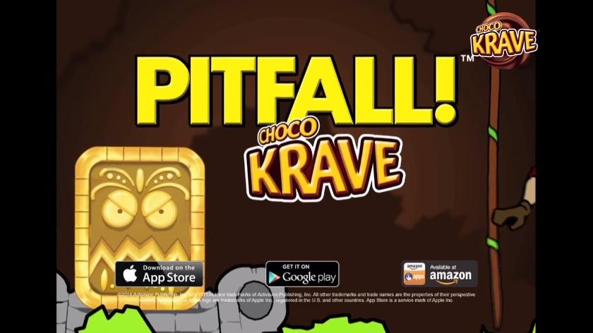 Pitfall! Choco Krave header