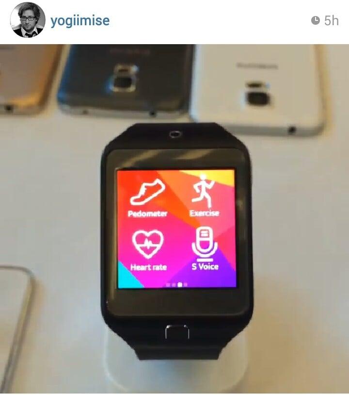 Il retro di Samsung Galaxy S5 svelato in un hands-on con i nuovi Gear