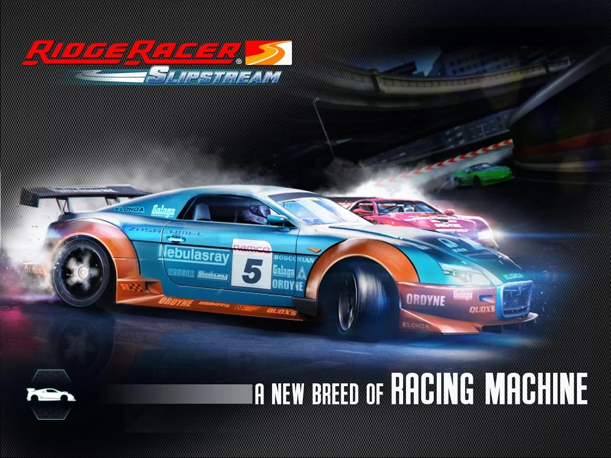 Ridge Racer Slipstream Header