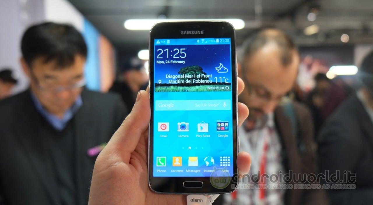 Samsung pubblica una nuova app per mostrarci le potenzialità di Galaxy S5