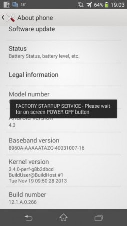 Xperia SP - Android 4.3