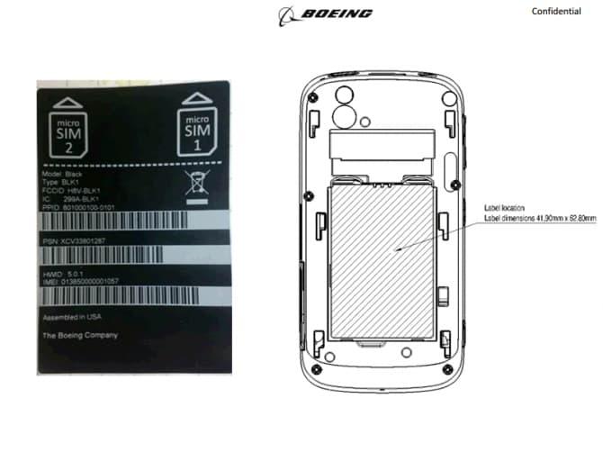 Smartphone Boeing