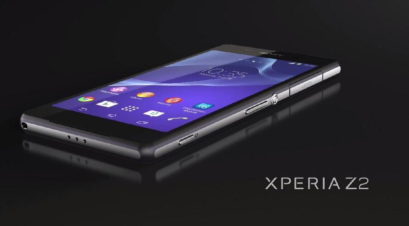 Sony Xperia Z2 Header