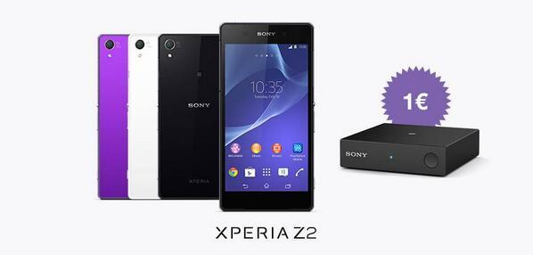 Sony Xperia Z2 ricevitore bluetooth