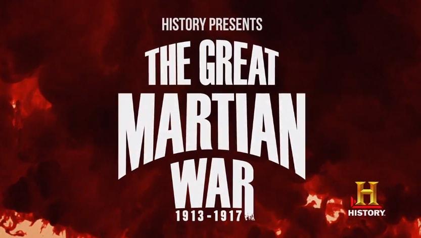 The Great Martian War Header