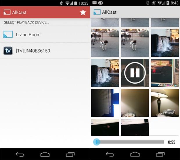 AllCast si aggiorna con il supporto DLNA (anche verso Chromecast)