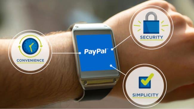 Paypal presenta all'MWC la sua applicazione per i pagamenti su Gear 2