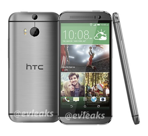 htc all new one silver