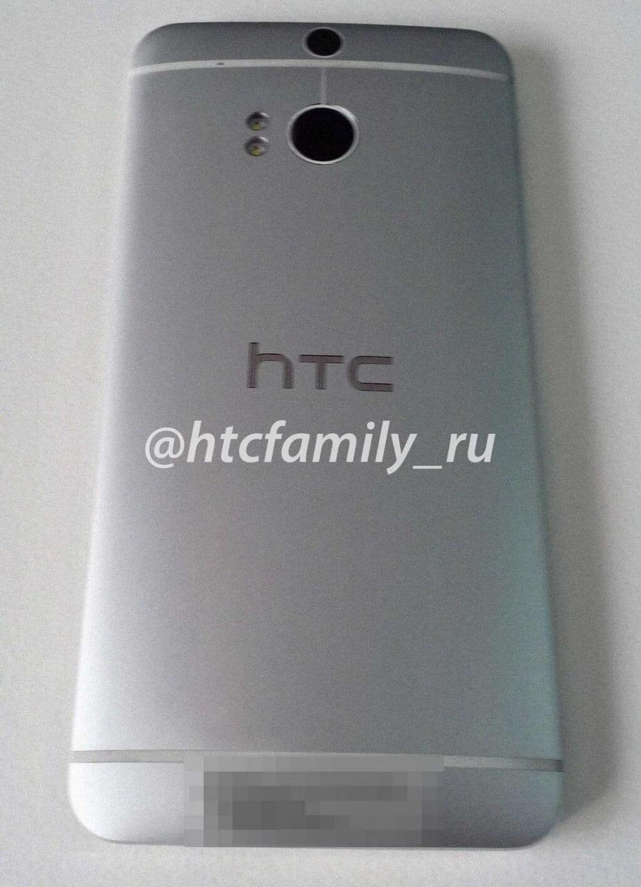 Nuova immagine delle due fotocamere posteriori di HTC M8