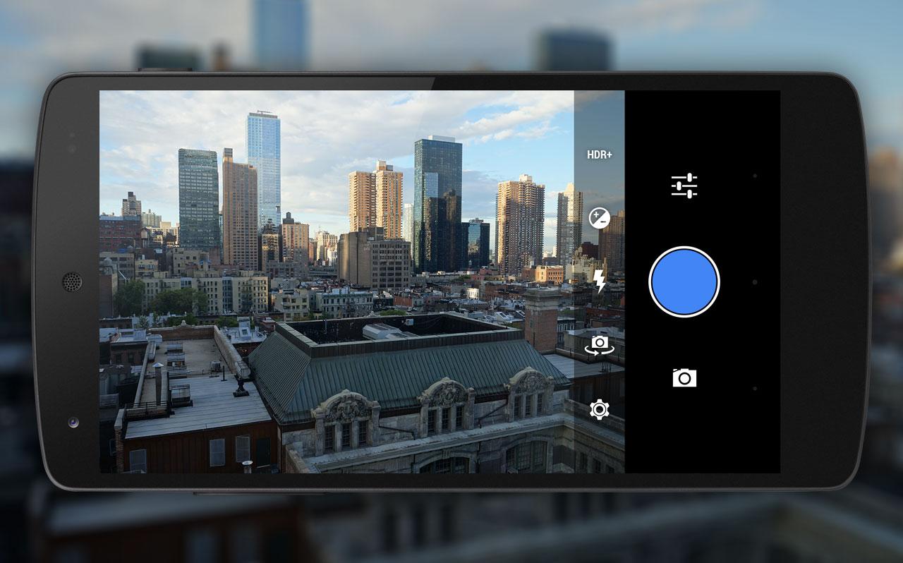 mockup Android 4.5 camera 2